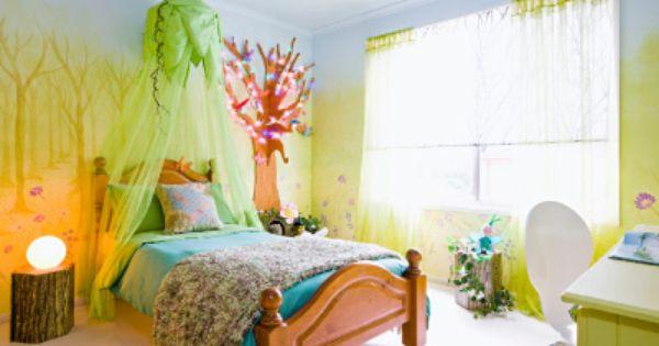 Enchanted forest bedroom kids room pinterest trees for Enchanted forest bedroom ideas