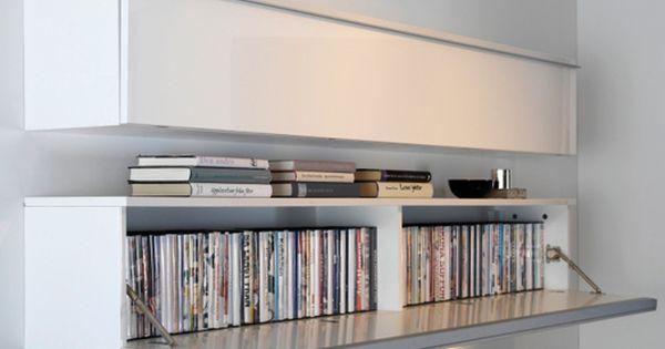 Besta burs wall shelf living room pinterest cd dvd for Meuble cd dvd ikea