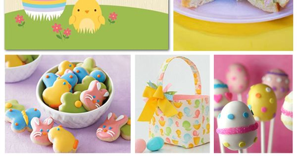 Easter party (such cute ideas)