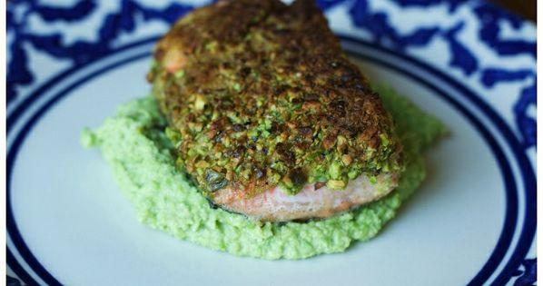 Edamame, Salmon and Pistachios on Pinterest
