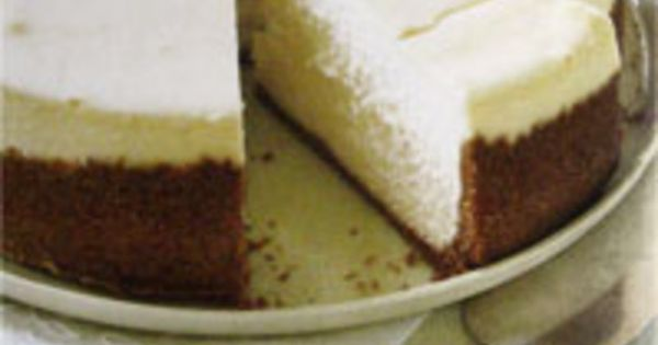 Cream cheese cheesecake, Cheesecake and Dorie greenspan on Pinterest