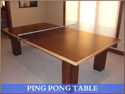 Walnut And Maple Ping Pong Table Ping Pong Table Table Ping Pong