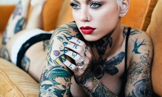 For some more gorgeous ink visit 0ct0 for Vagina tattoo tumblr