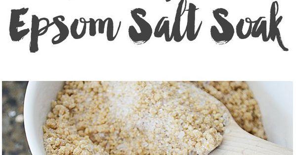 Salts, Honey and Bath soak on Pinterest