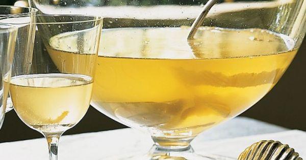 Lemon Drop Champagne Punch Recipe - 3 lemons, room temperature 1/2 cup