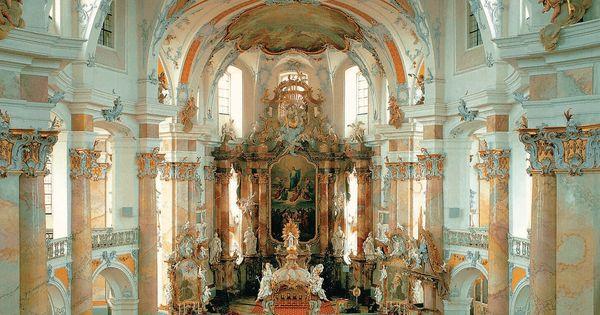 Johann balthasar neumann basilica of the fourteen holy for Balthasar floors