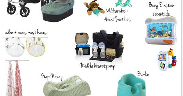 Wise Baby general baby registry guide--- for Gabby :)