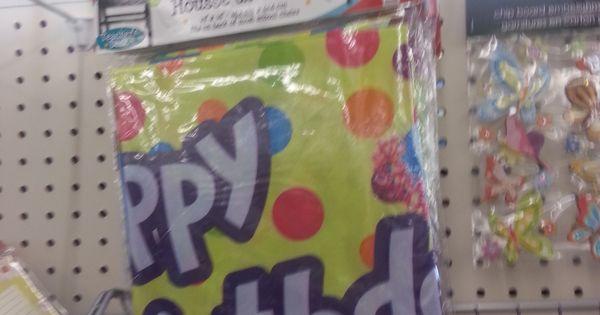 Dollar Tree Happy Birthday Chair Cover Favorite Dollar