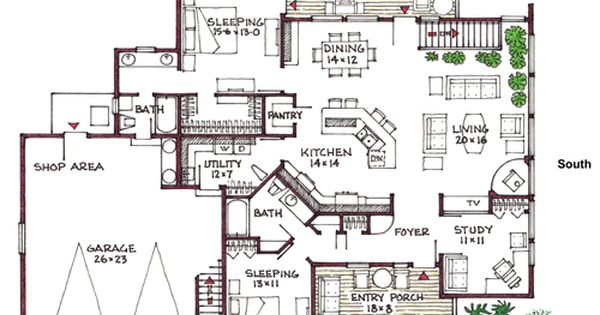 Open floor plans with basements daylight walkout for House plans with daylight walkout basement
