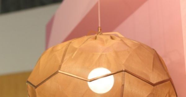 The ukhamba lamp in the africa is now stand at design indaba expo