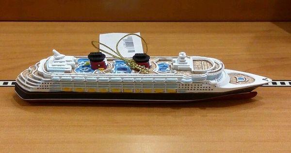 Disney Cruise Line Magic Resin Christmas Ornament Figurine
