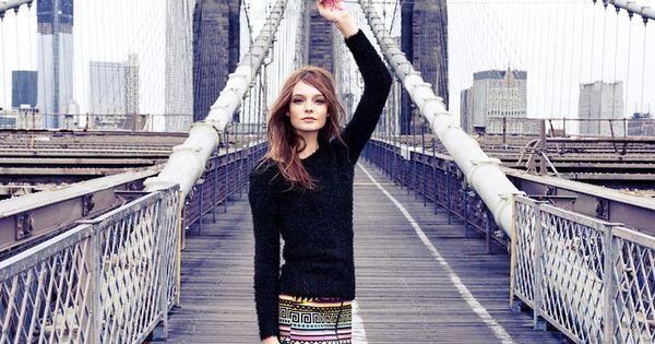 Brooklyn Bridge Fashion Ads