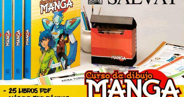 Curso De Dibujo Manga En Pdf By Salvat 25 Volumenes En 2020 Como Dibujar Comics Aprende A Dibujar Comic Dibujo Manga
