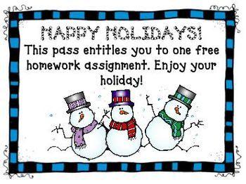 Happy holidays homework pass homework help titanic