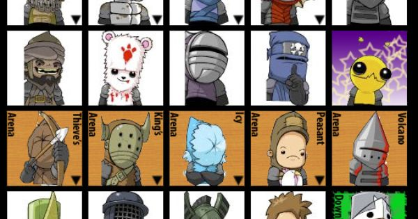 Castle Crashers Unlockable Characters List | IGN Boards