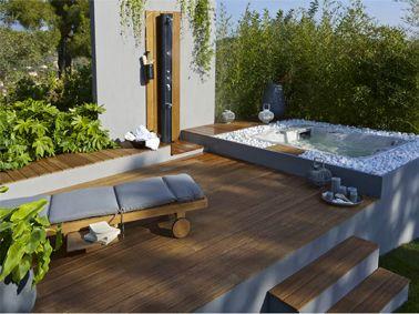 Terrasse Zen Idees Et Photos Pour Une Terrasse Sympa Terrasse Zen Mini Piscine Terrasse Jardin