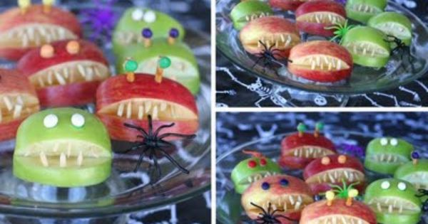 Tons of great and easy halloween treats! makes me want to plan