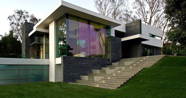 The 3d house that is considered to be the best from for Casa minimalista beverly hills mcclean design california eeuu