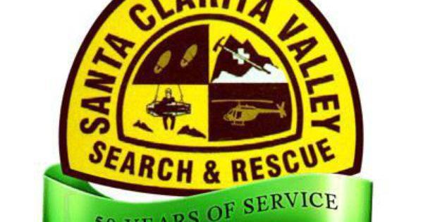 Santa Clarita Valley Search And Rescue Shoulder Patch Search And Rescue Santa Clarita Valley California State