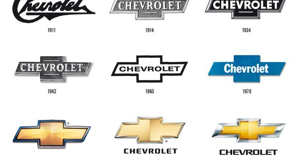 Chevrolet Logo Through The Years What Was The First Chevy Logo