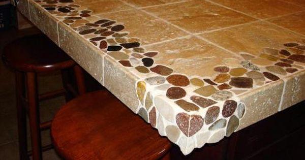 Pin By Pebble Tile Shop On Dizajn Doma Tile Countertops Kitchen