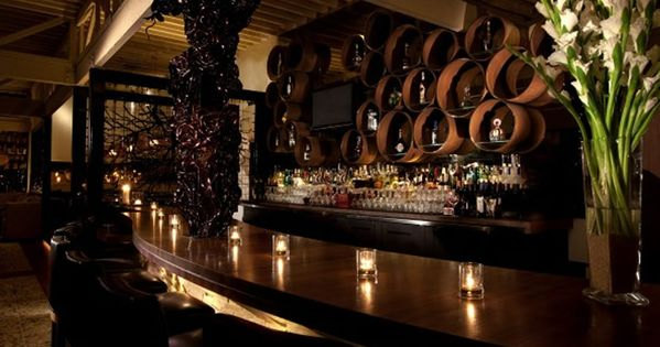 Sophisticated and Elegant Bar Interior Design of Red O Restaurant, Los Angeles | New place ideas ...