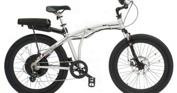 Prodeco V3 Phantom X2 8 Speed Folding Electric Bicycle Matte