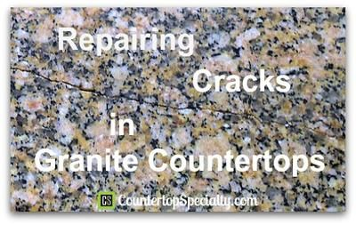 Repairing Cracks In Granite Countertops Granite Countertops