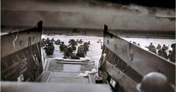 d-day invasion troop numbers