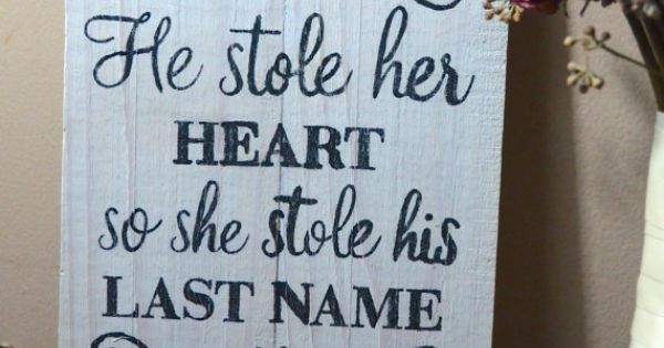 He Stole Her Heart So She Stole His Last Name By