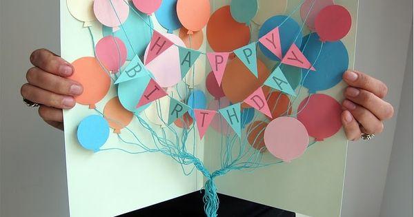 DIY Projects  Crafts Diy birthday cards, Birthdays and Happy