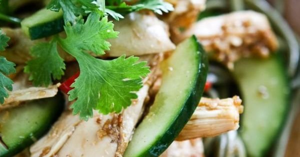 Asian Sesame Chicken Noodle Salad | Recipe | Noodle Salads, Chicken ...