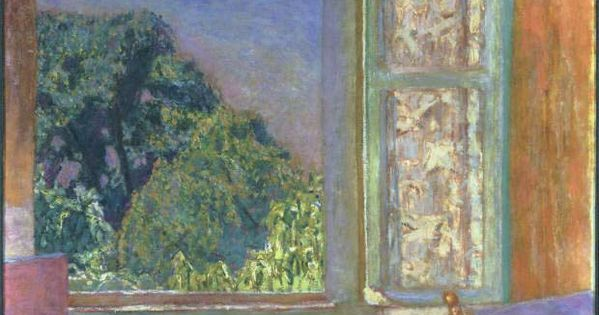 Pierre bonnard the open window 1921 oil on canvas the for Pierre bonnard la fenetre ouverte