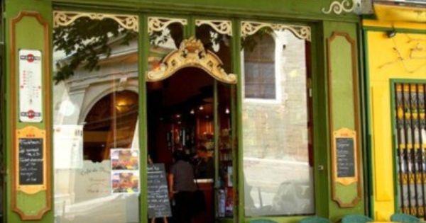Cafe de France, Provence, France