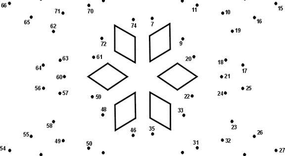 Number Dot To Dot Of Snowflake ...calvarywilliamsport.com