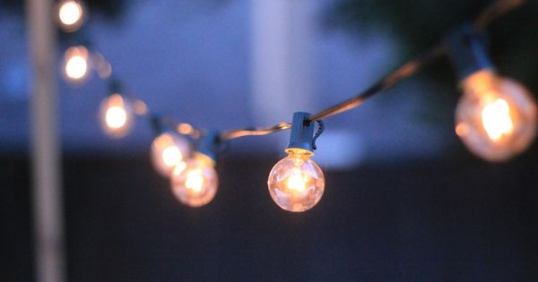 Kohl S Patio String Lights : Repinned: How to Hang Patio String Lights The Great Outdoors Pinterest Patio string lights ...