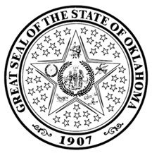 Thumbnail Image Of Oklahoma State Seal Coloring Page Coloring