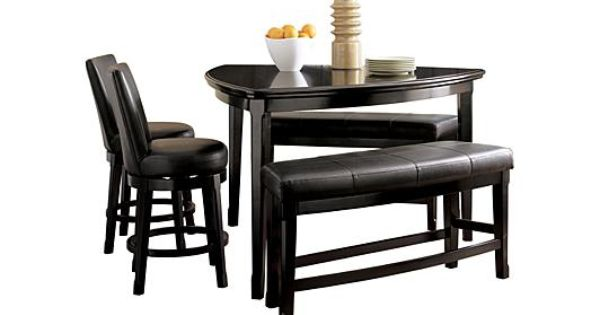 39++ Furniture of america karille modern black counter height dining table Inspiration