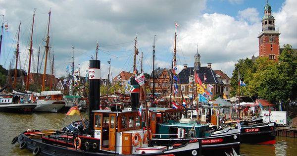 Veranstaltung Treffen Der Traditionsschiffe Unner D Rathuustoorn Ostfriesland Nochmal Der Wunderschone Hafen Von Leer Tour