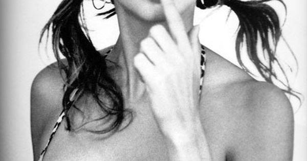 Adriana lima pigtails