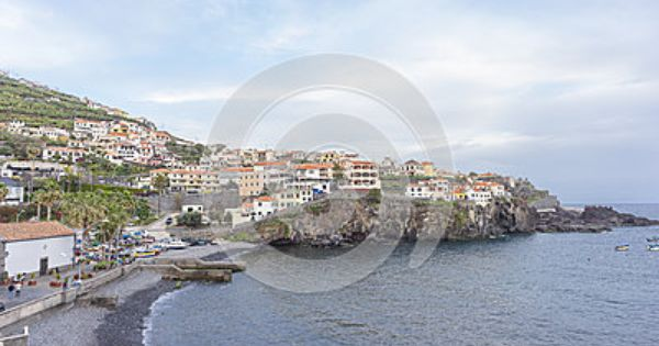Port In Camara De Lobos Madeira Island Fishing Villages Photo