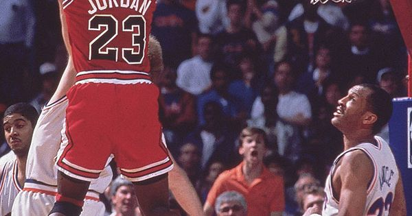 Today marks the 23rd anniversary of Michael Jordan's famous jumper over Craig