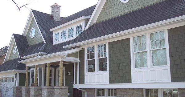 New construction double hung windows with white clad for Best rated windows for new home construction