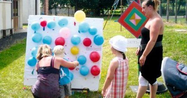 Jeux et danses la kermesse de l 39 cole idee jeu for Jeu exterieur maternelle