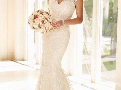 Illusion lace back wedding dress sleeve style and for Wedding dress jacksonville fl
