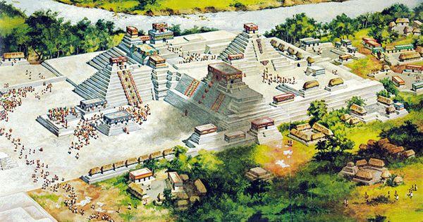 Los mayas taringa tenochtitlan pinterest maya for Muralla entre mexico y guatemala