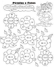 So Matematica 3º Ao 5ºano Atividades De Multiplicacao