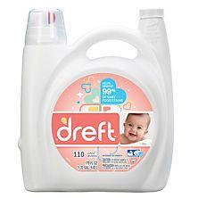Dreft He Liquid Laundry Detergent 170 Oz 110 Loads Baby