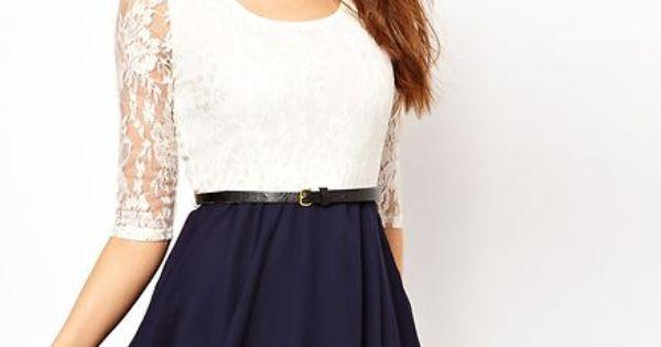 Vestido Renda E Chiffon 2 Ref 065 Roupas Pinterest Clothes Dream Closets And Clothing