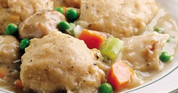 Our 50 Best Fall Recipes-- Old-Fashioned Chicken Dumplings (pictured)